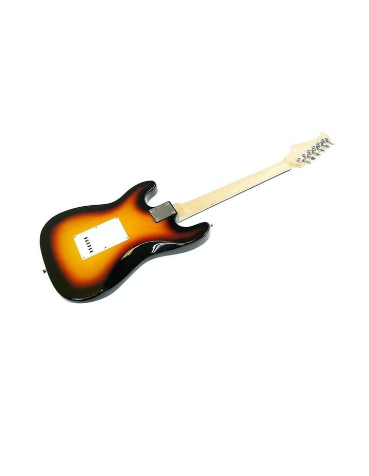 Sunburst Electric Guitar Music String Instrument Bass image 2