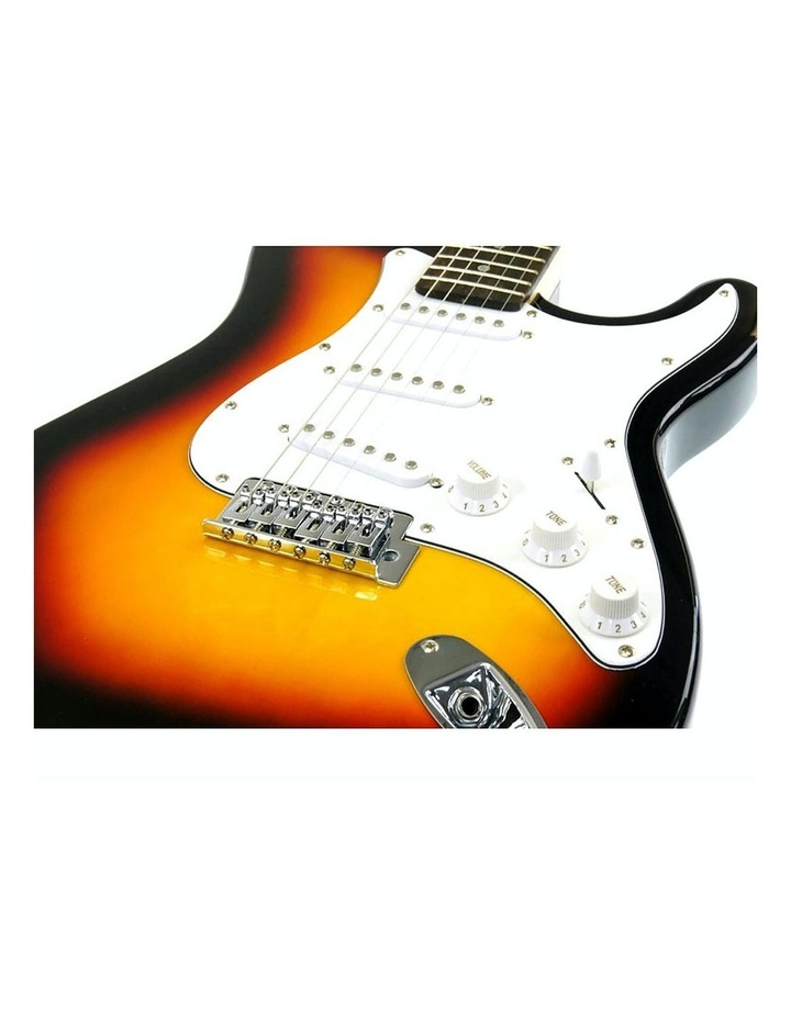 Sunburst Electric Guitar Music String Instrument Bass image 3