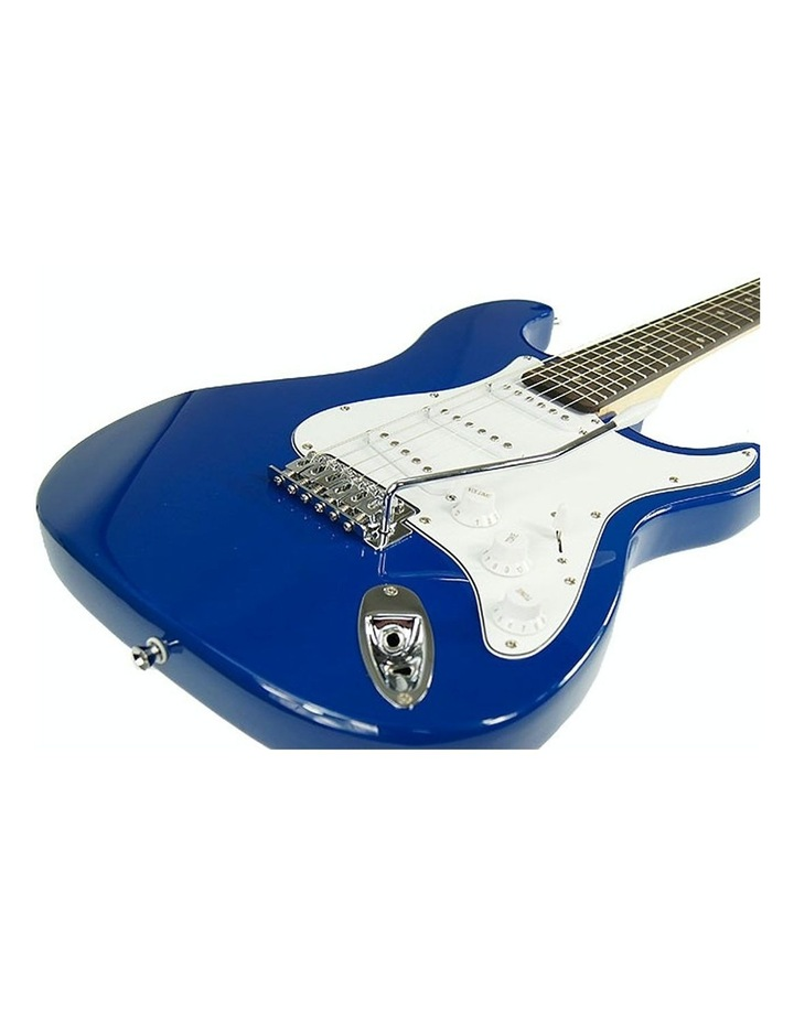Electric Guitar Music String Instrument Blue image 4
