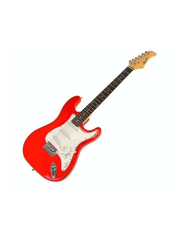 Electric Guitar Music String Instrument Red image 1