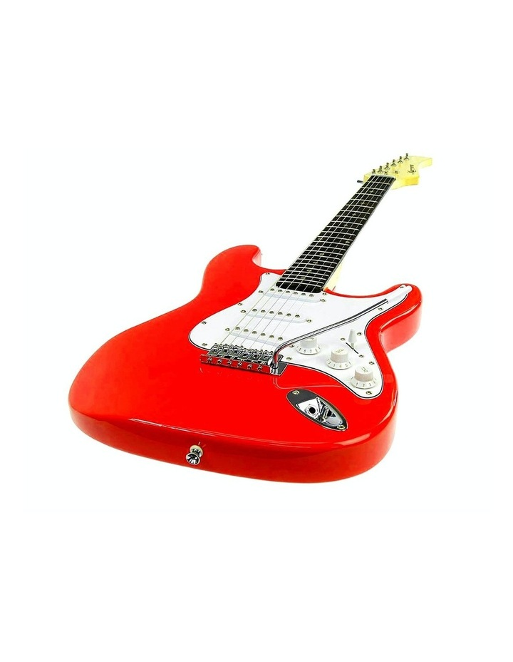 Electric Guitar Music String Instrument Red image 2