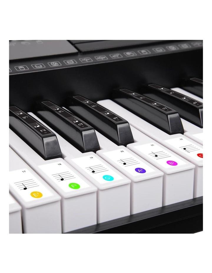 Karrera 61 Led Key Electronic Keyboard Teaching Piano Electric Music Stand image 7