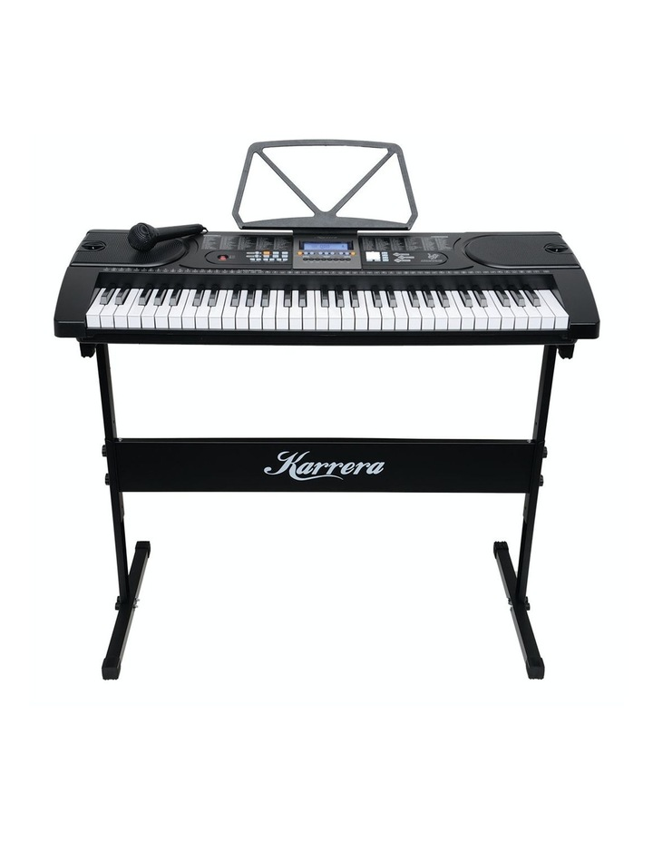 61 Key Electronic Keyboard Teaching Piano Electric Music Stand Holder image 1