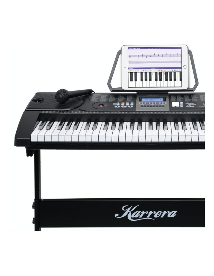 61 Key Electronic Keyboard Teaching Piano Electric Music Stand Holder image 7