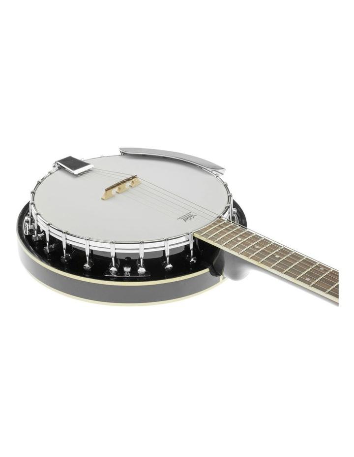 6 String Resonator Banjo -  Black image 5