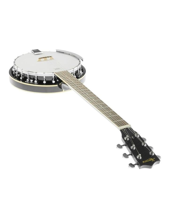 6 String Resonator Banjo -  Black image 6