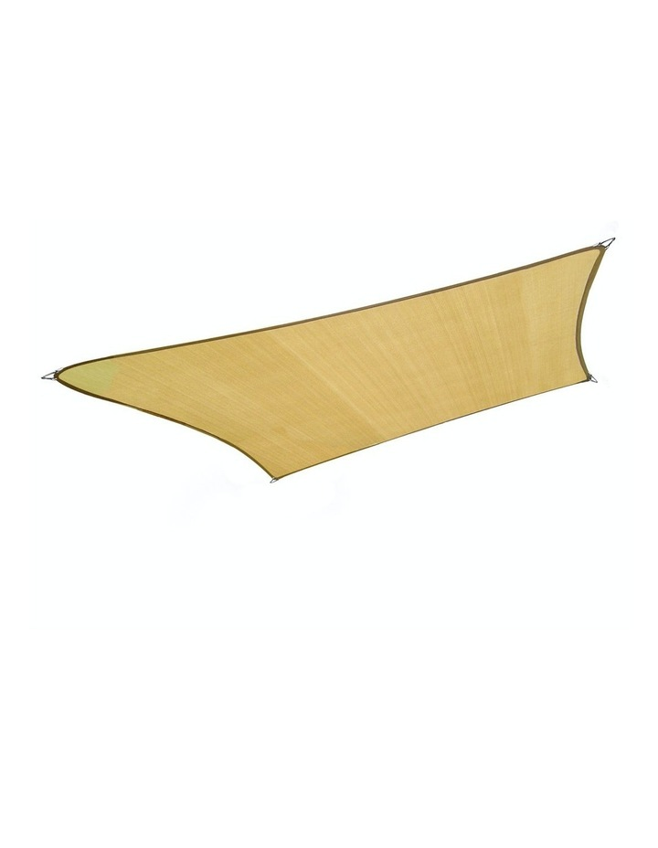 3m X 3m Outdoor Sun Shade Sail Canopy - Sand Cloth Square image 1