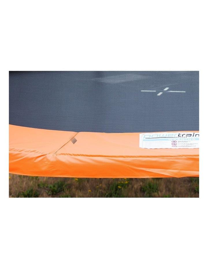 6ft Trampoline Free Safety Net Spring Pad Roof Cover Mat Basketball Set Orange/Blue image 6