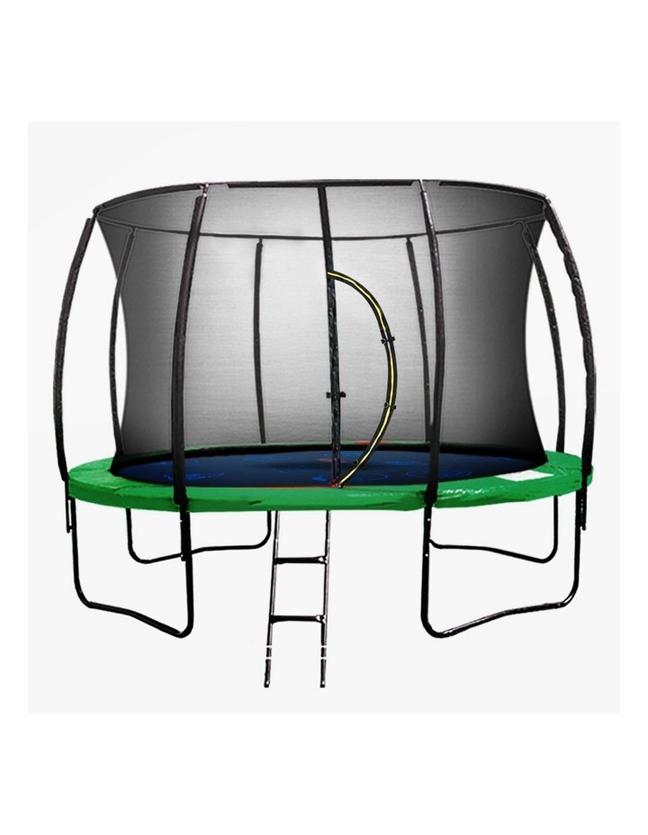 6ft Trampoline Round Outdoor Free Safety Net Spring Pad Cover Mat Green image 1