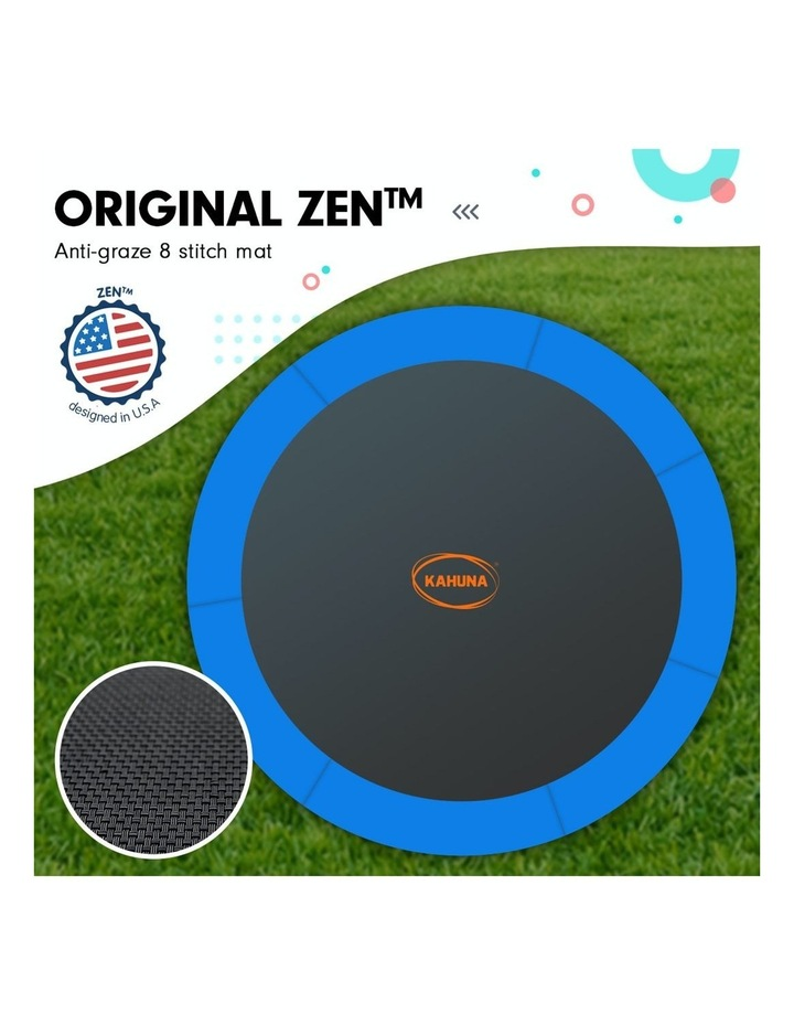 Blizzard 10 Ft Trampoline With Net - Blue image 2