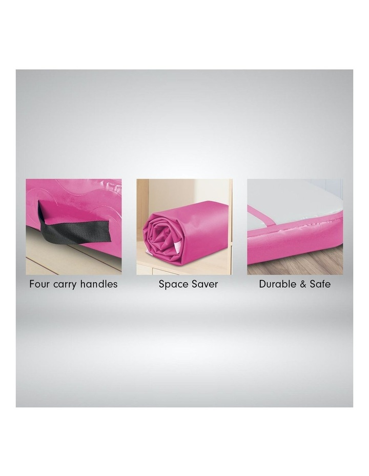6m Airtrack Tumbling Mat Gymnastics Exercise 20cm Air Track - Pink image 3