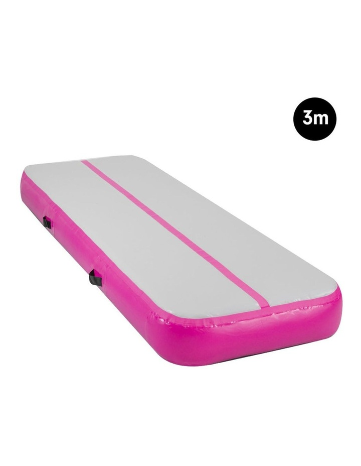3m Airtrack Tumbling Mat Gymnastics Exercise 20cm Air Track - Pink image 2