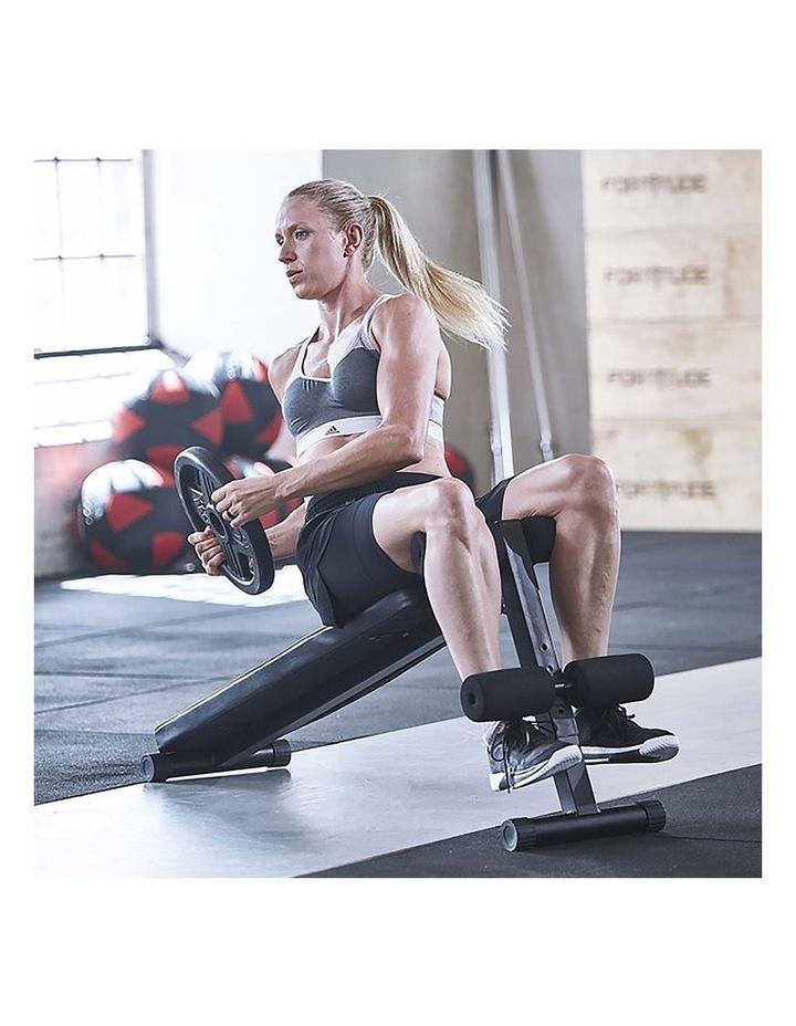 2x 24kg Adjustable Dumbbells with Adidas 10433 Bench - Gold image 5