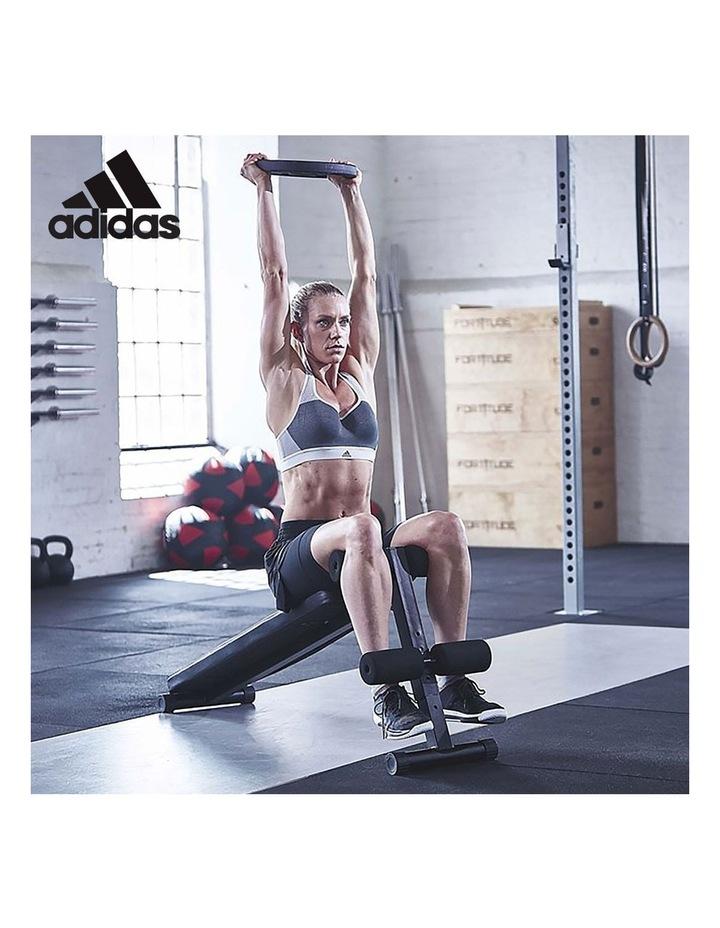 2x 24kg Adjustable Dumbbells with Adidas 10433 Bench - Gold image 6
