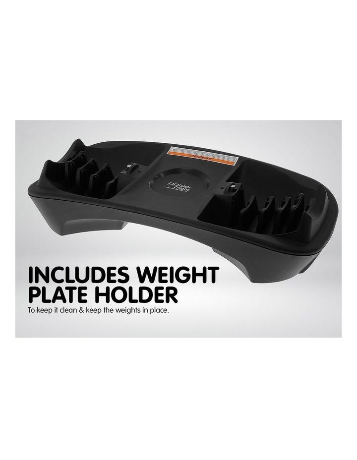 2x 24kg Adjustable Dumbbells w/ Stand Adidas 10433 Bench image 4