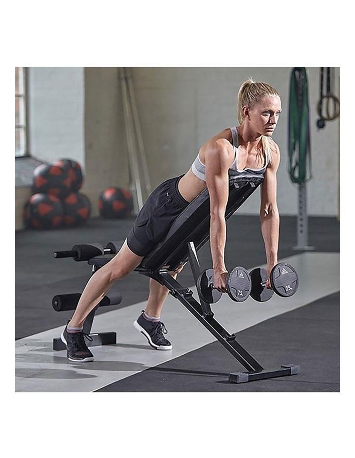 24kg Adjustable Dumbbell w/ Adidas 10436 Exercise Bench image 6