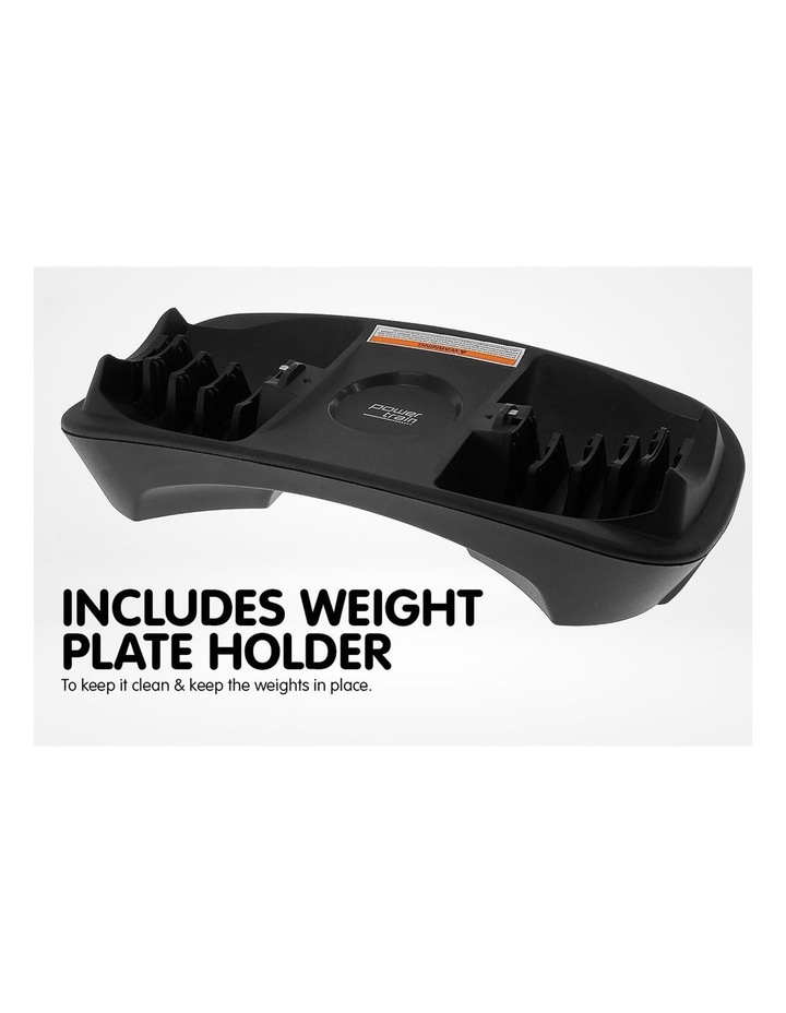 2x 40kg Adjustable Dumbbells and Stand w/ Adidas Bench image 4