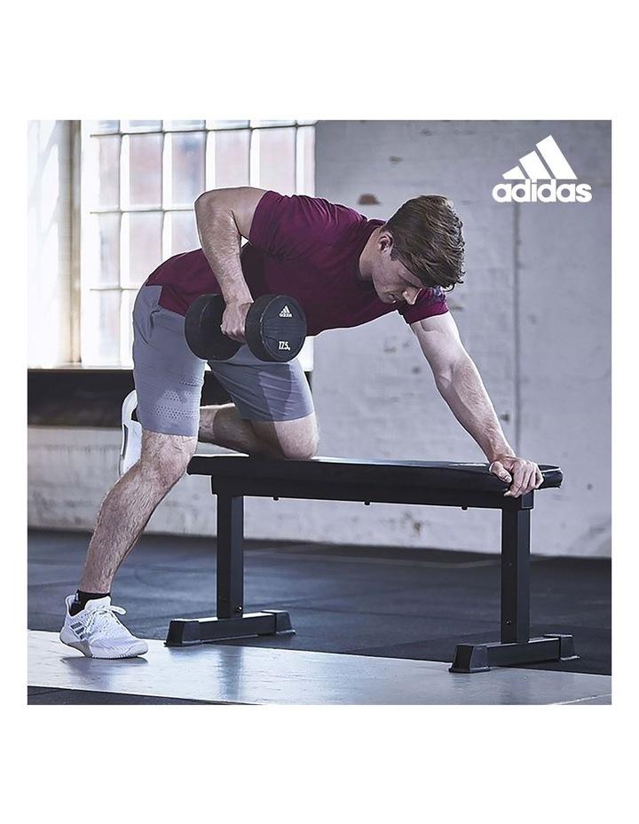 20kg Adjustable Dumbbell Set with Adidas 10437 Gym Bench image 7