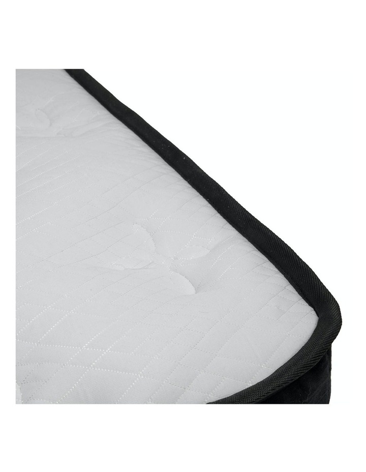 Double Mattress Bed Size Euro Top 5 Zone Spring Foam 32cm image 4