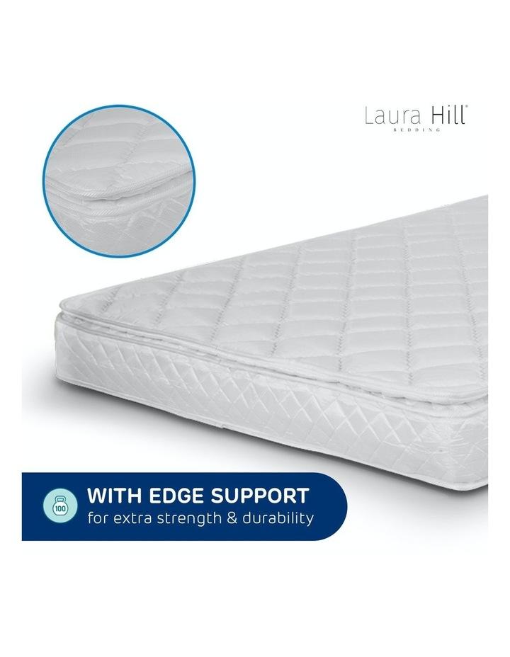 Laura Hill Mattress Queen Size Pillow Top Pocket Spring High Density Foam 22cm image 2