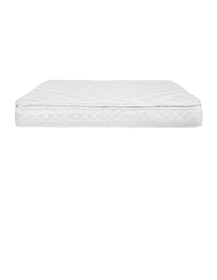 Laura Hill Mattress Queen Size Pillow Top Pocket Spring High Density Foam 22cm image 4
