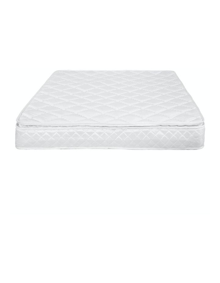 Laura Hill Mattress Queen Size Pillow Top Pocket Spring High Density Foam 22cm image 5