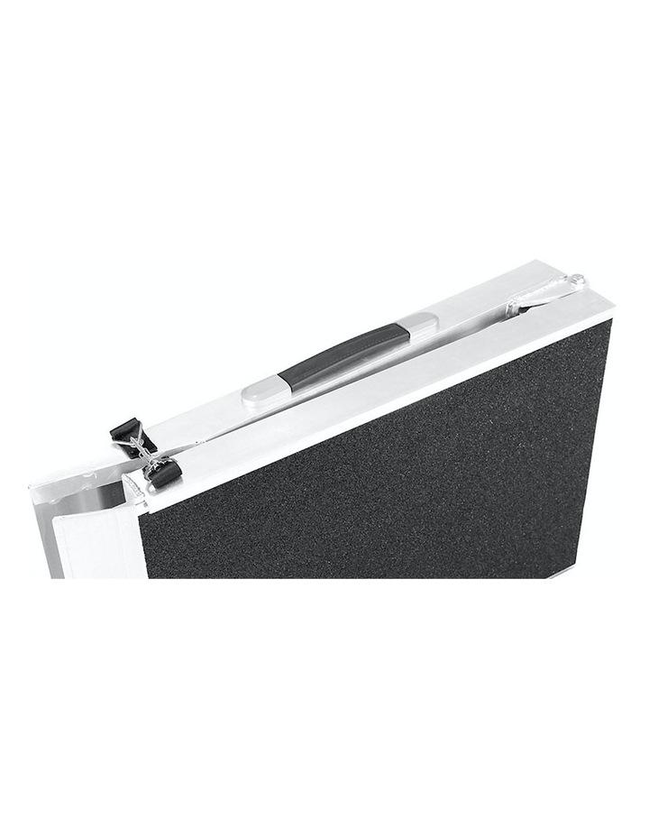 New Foldable Aluminium Pet Dog Ramp Step Doggy Carry Folding Non Slip Surface image 2