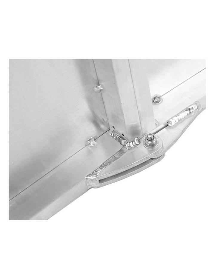 New Foldable Aluminium Pet Dog Ramp Step Doggy Carry Folding Non Slip Surface image 5