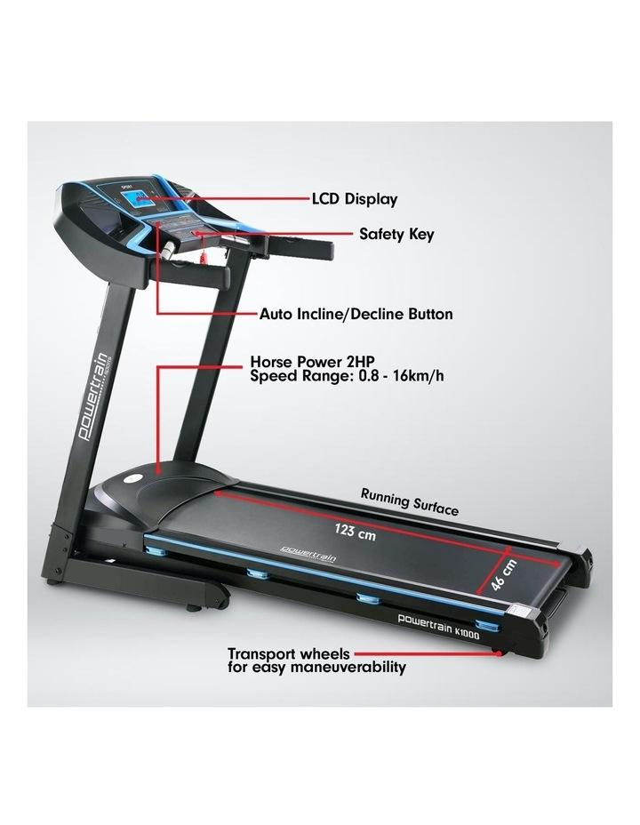 K1000 Foldable Home Treadmill image 3