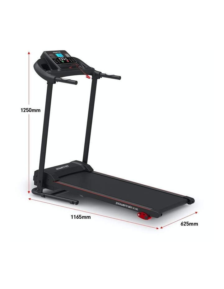 Foldable Home Gym Cardio Machine Electric Treadmill K100 image 6