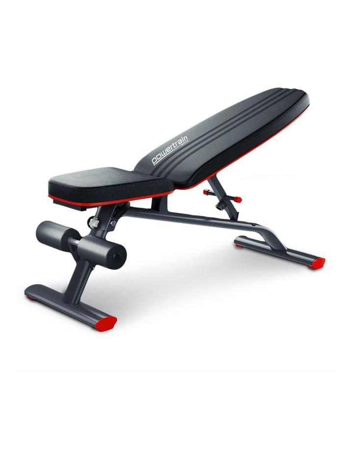 Home Gym Bench Adjustable Flat Incline Decline FID image 1