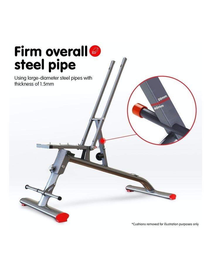 Home Gym Bench Adjustable Flat Incline Decline FID image 2