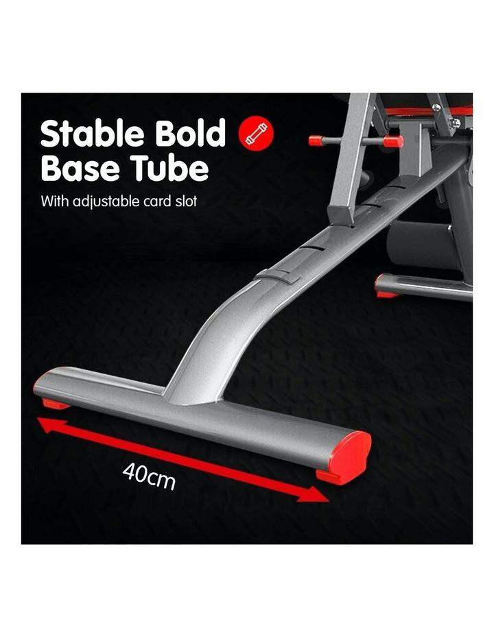 Home Gym Bench Adjustable Flat Incline Decline FID image 4