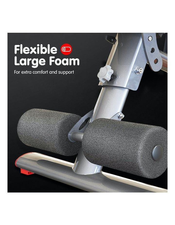 Home Gym Bench Adjustable Flat Incline Decline FID image 5