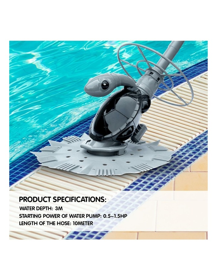 Automatic Swimming Pool Floor Below Ground Diaphragm Vacuum Cleaner 10m Hose (New Edition) image 7