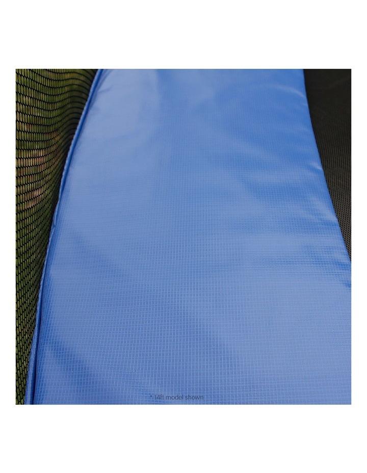 Kahuna 10ft Round Trampoline Safety Net Spring Pad Cover Mat Free Ladder Basketball Set Blue image 6