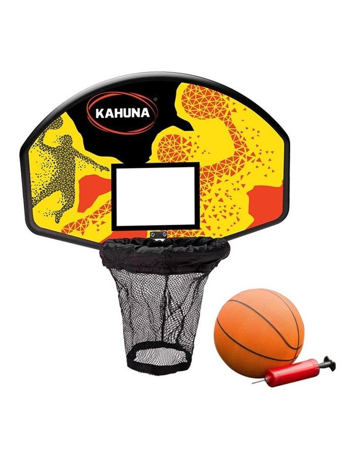 Kahuna 10ft Trampoline Free Safety Net Mat Spring Pad Cover Mat Basketball Orange/Blue image 4