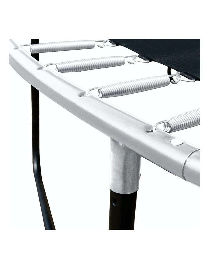 Kahuna 10ft Trampoline Free Safety Net Spring Pad Roof Mat Ladder  - Orange image 3
