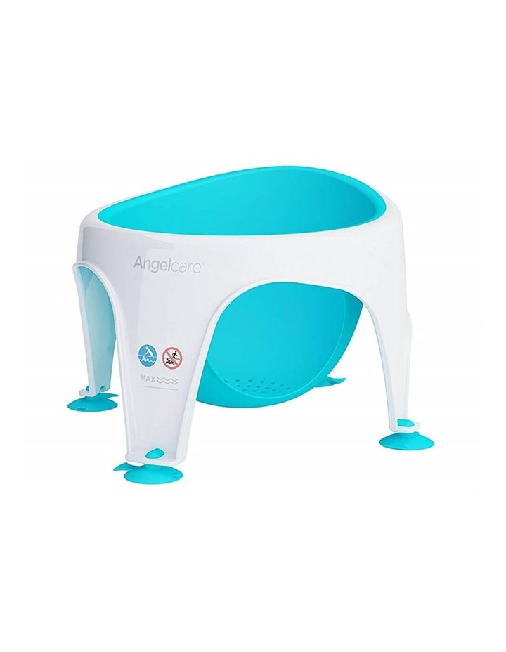 New Angelcare Baby Child Bath Support Soft Touch Ring Shower Mini Seat - Aqua image 1