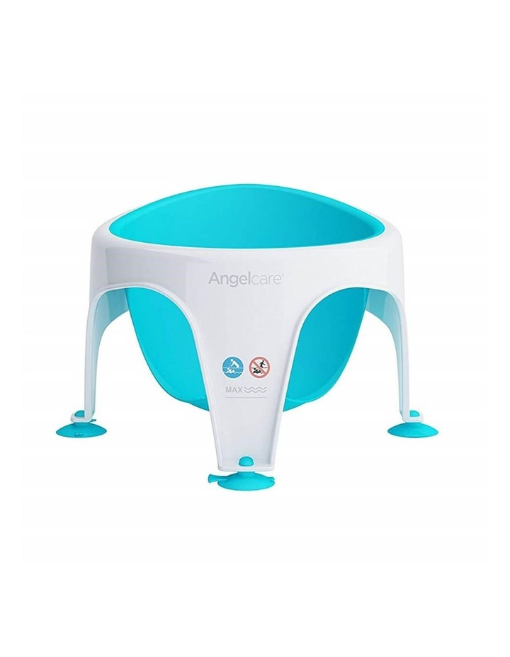New Angelcare Baby Child Bath Support Soft Touch Ring Shower Mini Seat - Aqua image 2