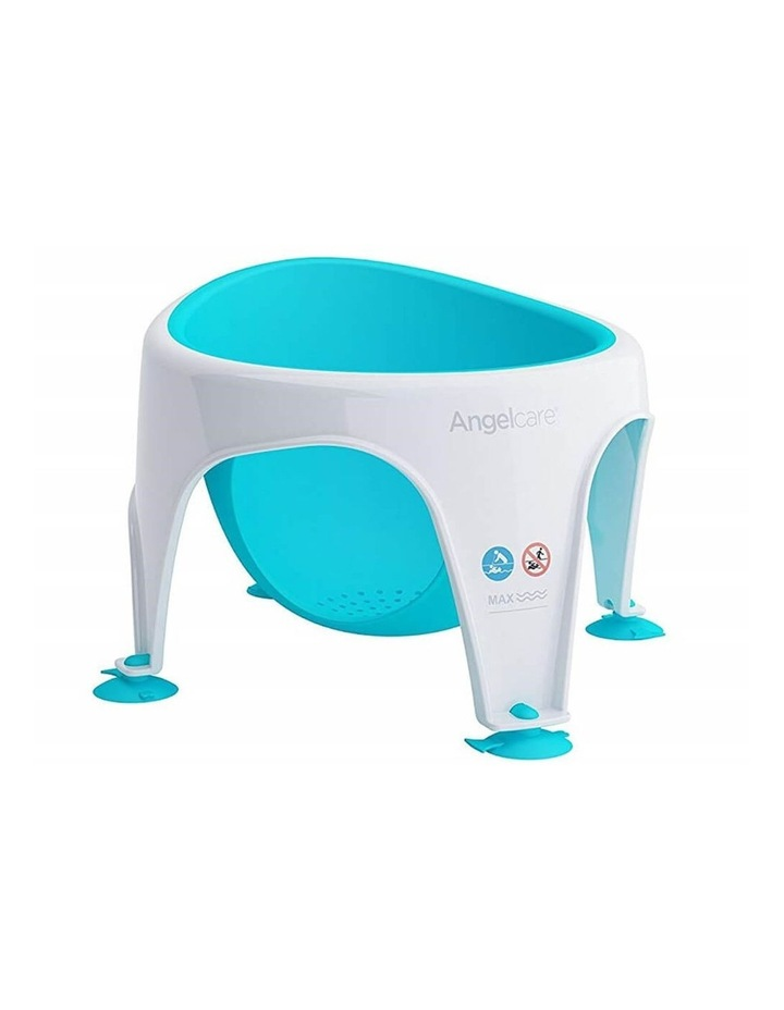New Angelcare Baby Child Bath Support Soft Touch Ring Shower Mini Seat - Aqua image 6