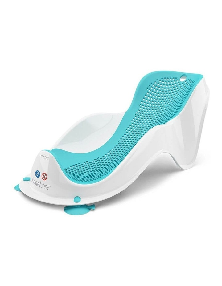 New Angelcare Baby Child Bath Support Soft Touch Shower Mini Seat - Aqua image 1
