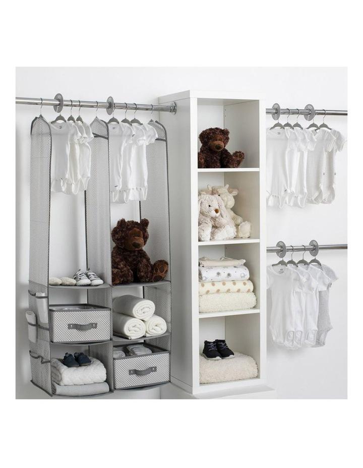 Nursery Storage Set 24 Piece Grey image 2