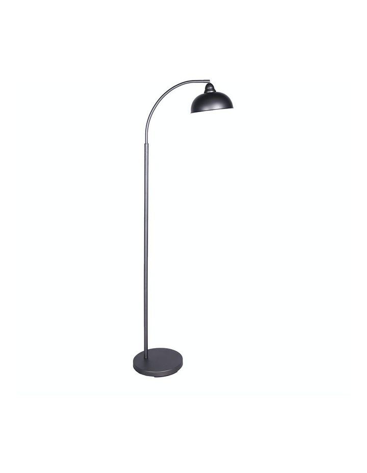 Chic Industrial Adjustable Angle Floor Lamp Dark Grey image 1
