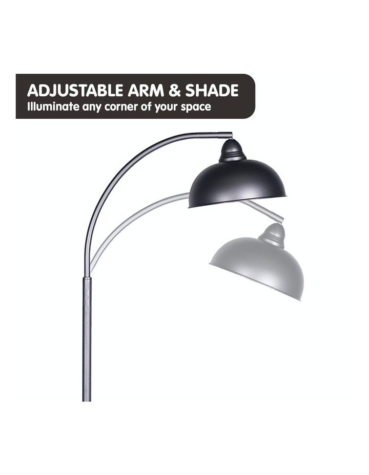 Chic Industrial Adjustable Angle Floor Lamp Dark Grey image 4