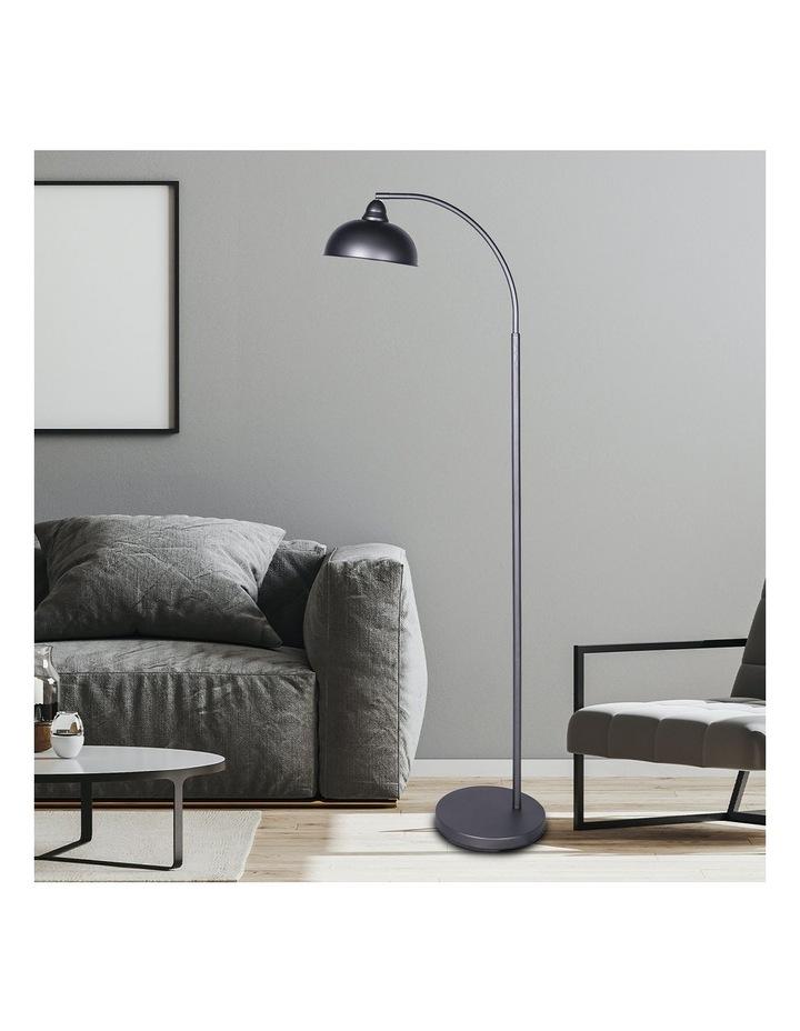 Chic Industrial Adjustable Angle Floor Lamp Dark Grey image 6