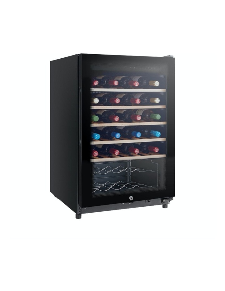 34 Bottle Wine Fridge Mini Cooler Chiller Storage  WC34 image 1