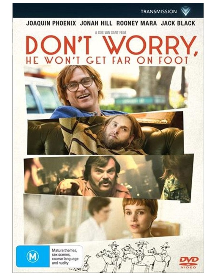 Don't Worry, He Won't Get Far On Foot DVD image 1