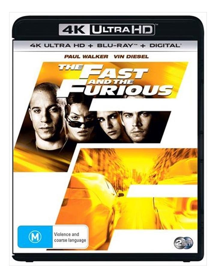 The Fast And The Furious   Blu-ray   UHD image 1