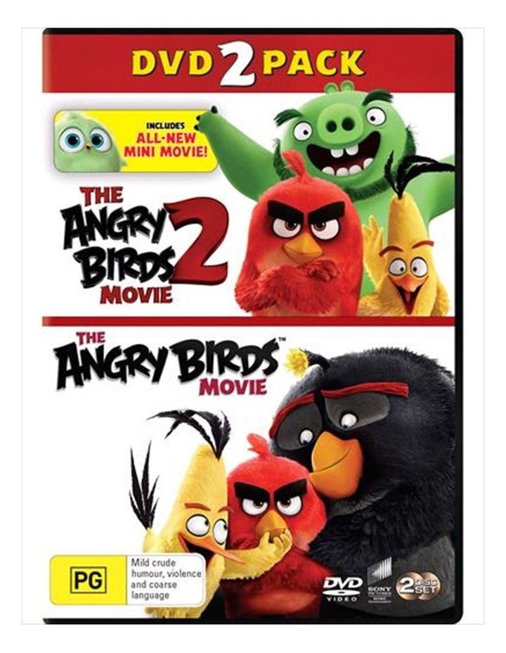 Angry Birds Movie / The Angry Birds Movie 2 DVD image 1